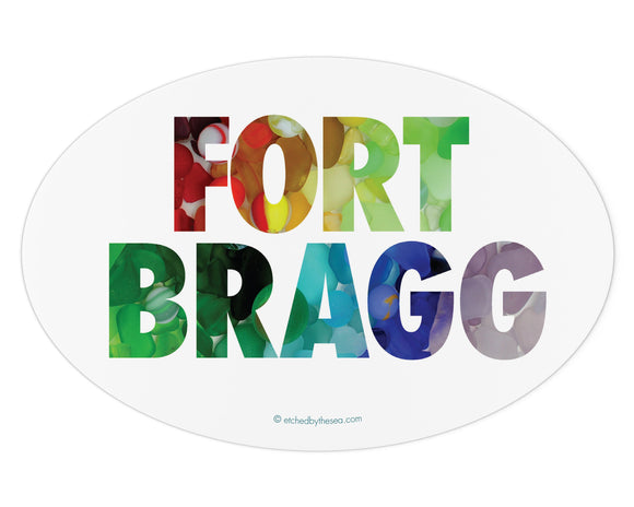 Fort Bragg Sea Glass Bumper Sticker