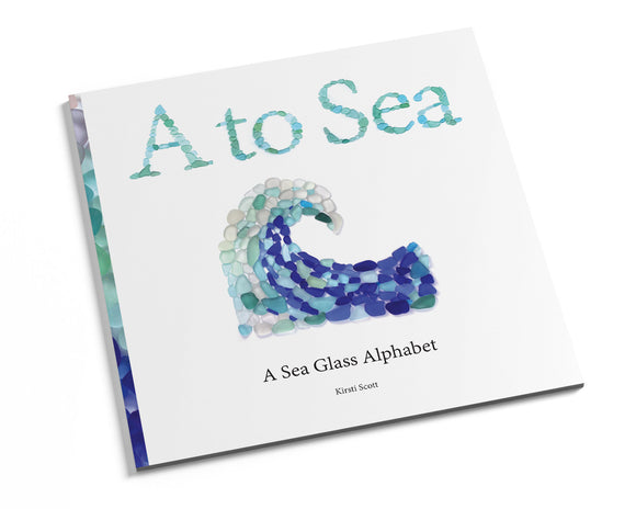 A to Sea - Sea Glass Alphabet Book