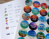 Beachcombing Journal and Stickers - Keep all your beach memories
