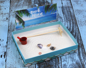 Beach Therapy Box Miniature Zen Beach