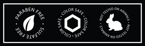 sulfate free, cruelty free, color safe.