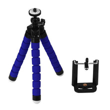 Load image into Gallery viewer, Mini Portable Flexible Tripod with Phone Holder Bracket Stand Tripod Kit