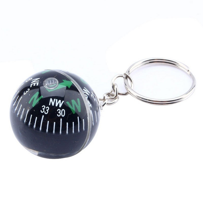 28mm gift guide ball compass key chain guide ball