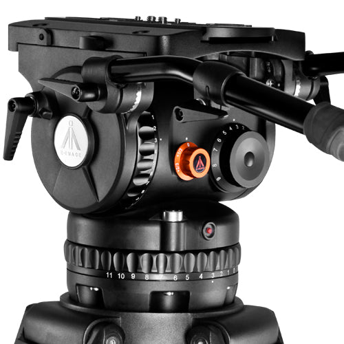 E-Image GH40 Plus Fluid Head (150mm) with max payload 40kgs