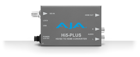 AJA Hi5-Plus (Hi5Plus) 3G-SDI to HDMI Mini Converter