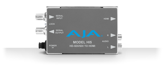 AJA Hi5 HD/SD SDI to HDMI Mini Converter