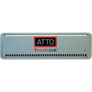 ATTO 2-Port 20Gb Thunderbolt 2 to 2-Port 16Gb Fibre Channel, LC SFP+ Interface (SFP+ modules included)
