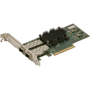 ATTO Dual Channel x8 PCIe 2.0 to 10Gb Ethernet, Low Profile, LC SFP+ SR Interface