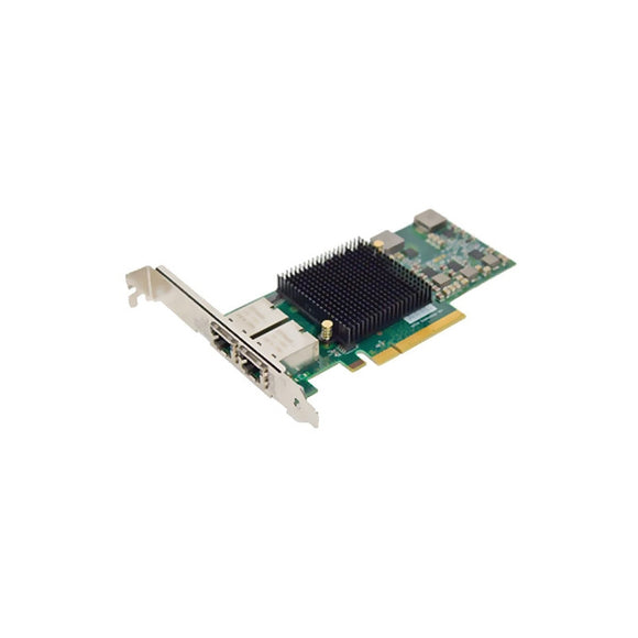 ATTO Dual Channel x8 PCIe to 10Gb Ethernet NIC, Low Profile, RJ45 Interface
