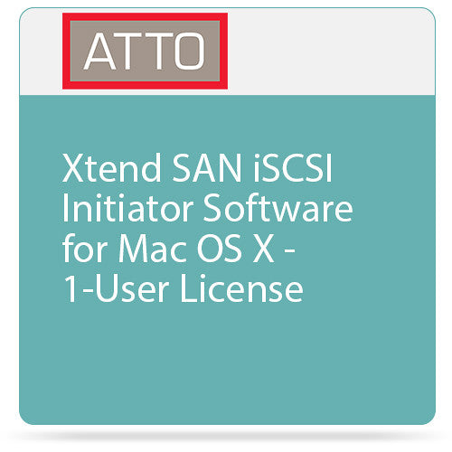 ATTO One user License for Xtend iSCSI Initiator