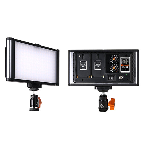 E-Image E-160 On-camera Bi-color LED Light, 160PCS, 10W, 1600Lux@1M, 5300Lux@0.5m