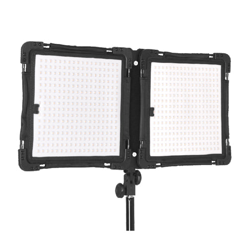 E-Image E-576 (Dimmable & Colour Change Dials) Flexible LED Light, 576PCS, 100W, 4800Lux@1m, 10000Lux@0.5m