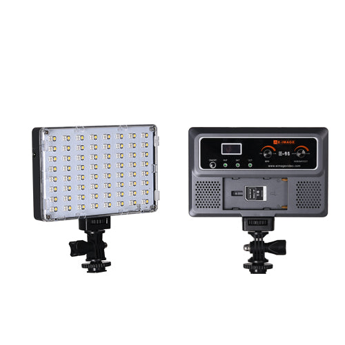 E-Image E-96 On-camera RGB LED Light, 128PCS, 10W, 500Lux@1m, 1500Lux @0.5M