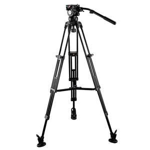 E-Image EG08A2 Video Tripod Kit GH08 with Head & GA752 Legs