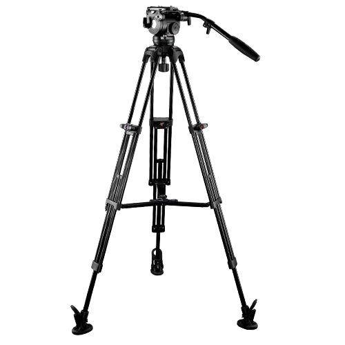 E-Image EG08C2L Video Tripod Kit with GH08L head & GC102 legs