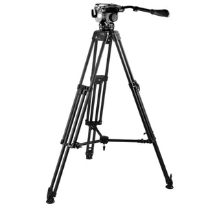 E-Image EI-7060-AA Video Tripod Kit AT7402A head & 7060H legs