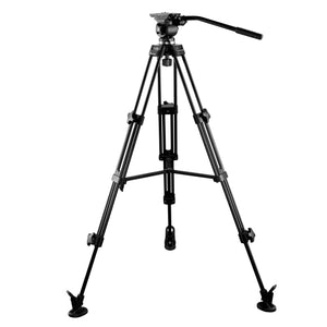 E-Image EI7050-AA Video Tripod Kit 7050H head & AT7402A legs