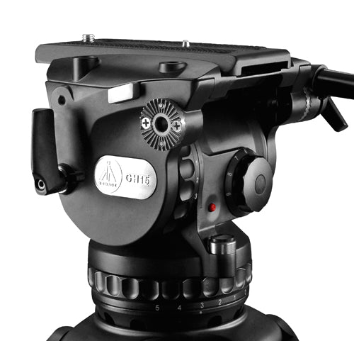 E-Image GH15 Fluid Head (100mm) with max payload 15kgs