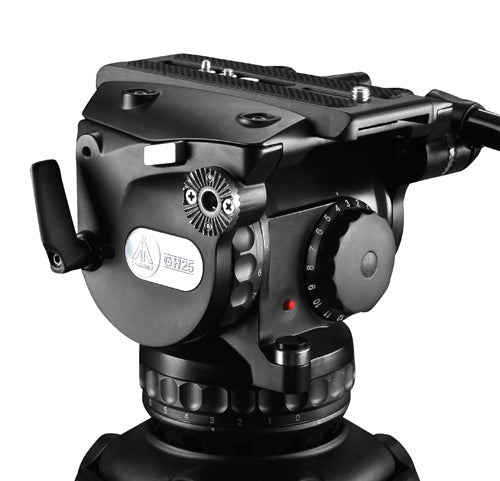 E-Image GH25 Fluid Head (100mm) with max payload 25kgs
