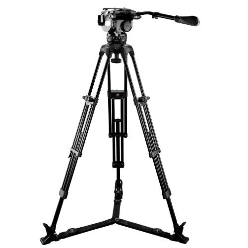 E-Image EG25A2 Video Tripod GH25 head & GA102 legs