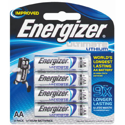 Energizer Ultimate Lithium AA Card 4