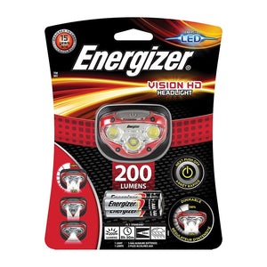 Energizer Vision HD Headlight (200 lumens) incl. 3x AAA
