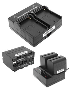 Farseeing DV Dual Channel Charger (JVC SSL-50 Batteries)