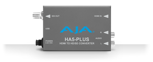 AJA HA5-Plus (HA5Plus) HDMI to 3G-SDI Mini Converter