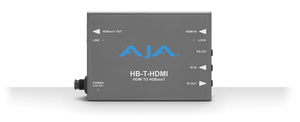 AJA HB-T-HDMI (HMTHDMI) HDMI to HDBaseT with RS-232 Mini Converter