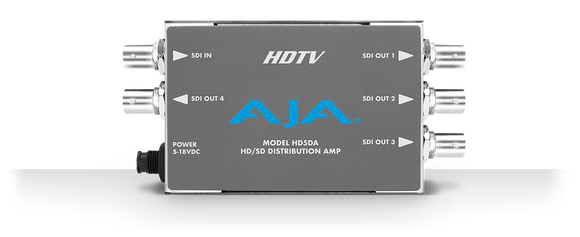 AJA HD5DA HD/SD SDI Distribution Amplifier/Repeater Mini Converter