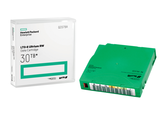 HPE LTO8 Ultrium 30TB RW Data Cartridge
