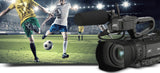 JVC GY-HM250ESB (GYHM250ESB) 4K/HD/SD Camera with Live Streamin & Sports Graphics