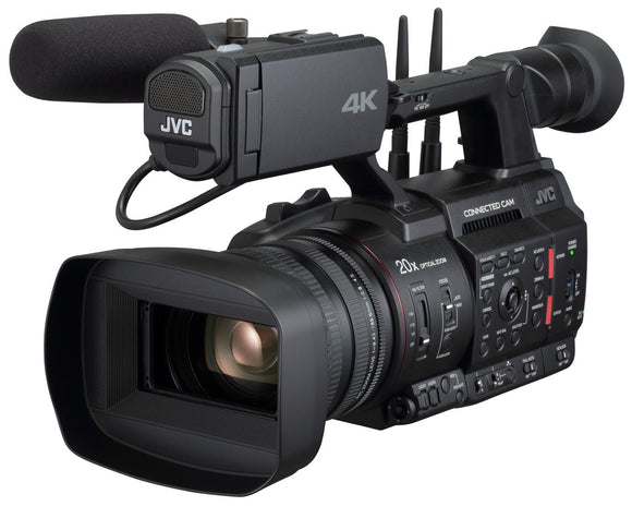 JVC GY-HC550E 4K/ HD handheld camcorder with 1