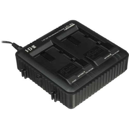 JVC LC-2J (LC2J) IDX Dual Battery Charger (SSL-50 & SSL75)
