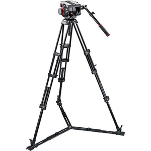 Manfrotto 509 Head/ 545 GBK TriPod & 100PN Bag TriPod Kit