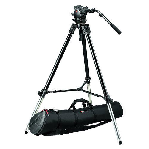 Manfrotto 5526 Head/ 528XB Head & 120PM Bag TriPod Kit