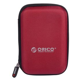 Orico 2.5 Portable Hard Drive Protector Bag Red