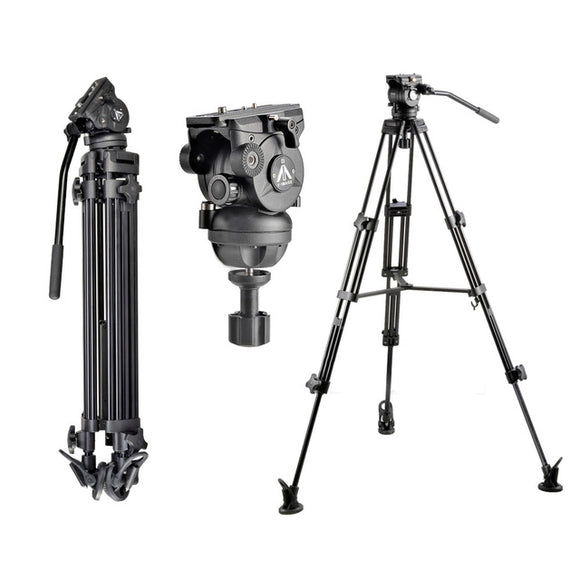 E-Image EI-7060-A2 Video Tripod Kit T7402 head & 7060H legs