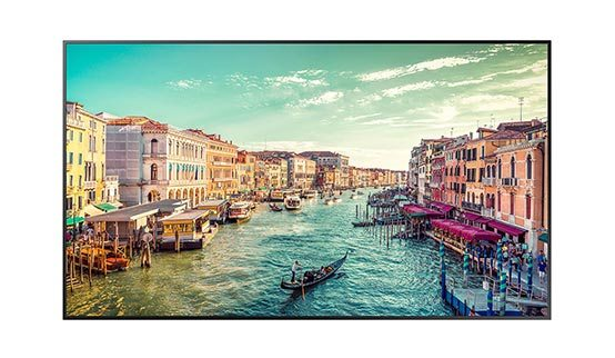 Samsung 75'' Professional Display - UHD; 24/7 Usage; 500nit Brightness; Embedded SoC Media Player: SSSP 6