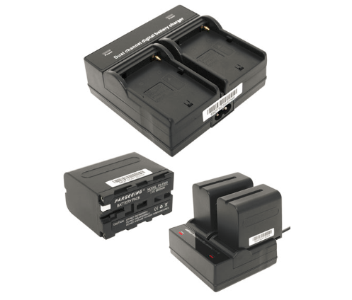 Farseeing DV Dual Channel Charger (Sony NPF-970 Batteries)