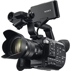 Sony PXW-FS7M2 K (PXWFS7M2K) 4K Super 35mm Exmor E-Mount Cinema Camera with 18-110mm f4 Servo Zoom GOSS Lens and E-mount Lens Mount