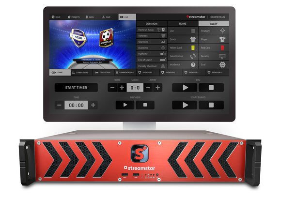 Streamstar SCOREPLUS SW- volleyball module