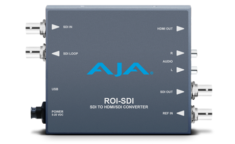 AJA ROI-HDMI (ROIHDMI) HDMI to SDI Mini-Converter with ROI Scaling