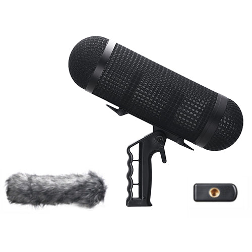 E-Image BS-M20 Mental Suspension Windshield System (For Microphone 245mm In Length And 19-22 Diameter)