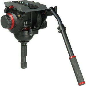 Manfrotto Pro Fluid Video Head - 100mm Half Ball 509HD