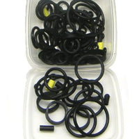125-Piece Black Rubber Ring Set - Nitro Pinball Sales