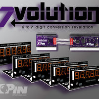 XP-7Volution Display - Orange - Nitro Pinball Sales