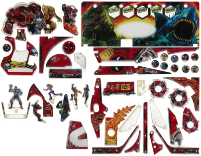 803-5000-K1 Deadpool Plastic Kit