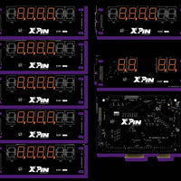 XP-WMS8363-S   Williams 7-Digit Shuffle Display