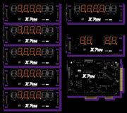XP-WMS8363-S   Williams 7-Digit Shuffle Display - Nitro Pinball Sales